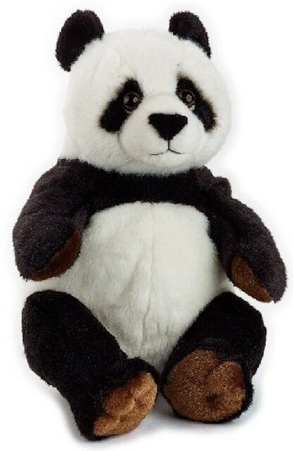 NATIONAL GEOGRAPHIC PANDA BEAR PLUSH SOFT TOY 22CM STUFFED ANIMAL - BNWT