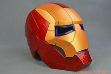 Iron Man Kids Helmet Mask Costume Mask with LED Light HOT SELL FREE SHIPPING rt5