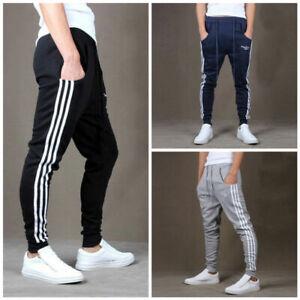 Tri-Band-Pantalon-Homme-Jogging-Training-Leggings-Gym-Pantalons-Entrainement