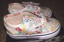 Vans x Disney Authentic Ariel The Little Mermaid Princess Toddler Baby Shoes 6