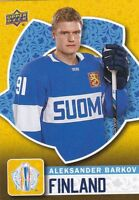 2016 Upper Deck World Cup of Hockey #WCH-23 Aleksander Barkov SP