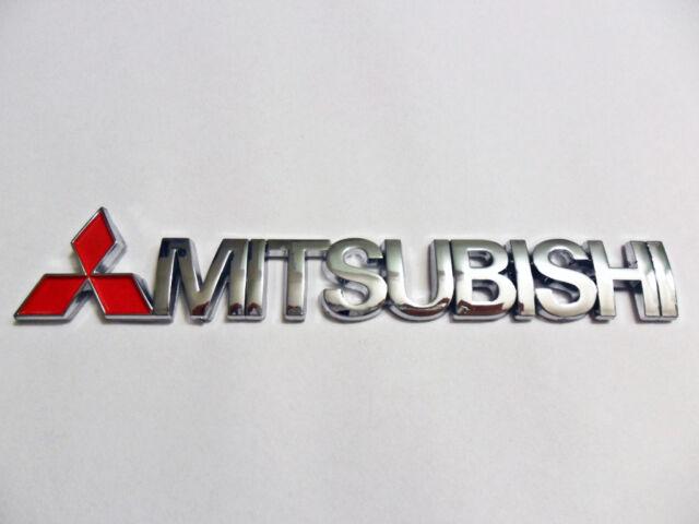 For Mitsubishi Logo emblem sticker badge GRS EVO ES RS Eclipse Galant JDM Lancer