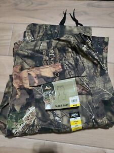 NEW Mens Cargo Pants MOSSY OAK Break-Up Country Camo Sz M L XL XXL XXXL Hunting