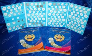 Album-for-regular-coinage-coins-rubles-1961-1991-of-the-USSR-Set-2-Albums