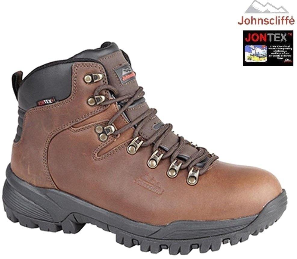 JOHNSCLIFFE® CANYON Hiking / Braun Walking Stiefel. Waterproof Conker Braun / Oil Leder a9febf