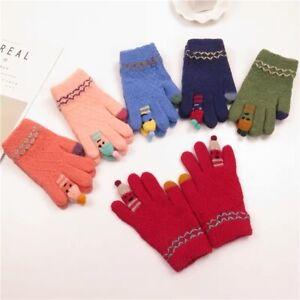 Kids Mittens Soft Warm Gloves 5-12 yrs old kids