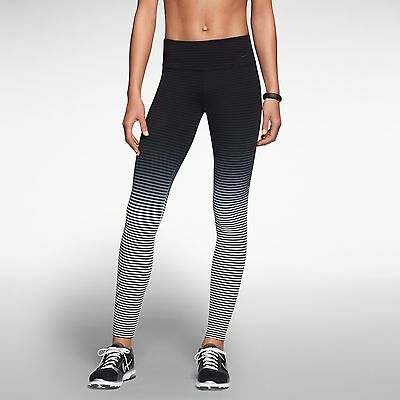 Nike Legend 2.0 Tight Black/Navy/White 589173-018 Dry-Fit Poly Workout Pants