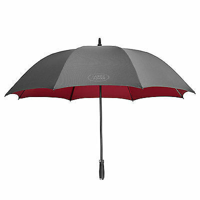 Genuine Land Rover Black & Red Umbrella with Carry Bag