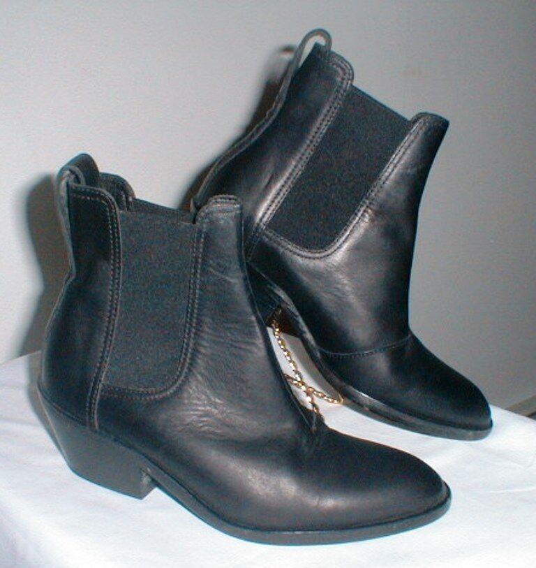 Rag & Bone Walker Bottines en cuir femme taille 5 5 5 M Euro taille 35 EUC 59bccf