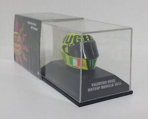 Valentino Rossi Moto GP Mugello 2016 Agv Casco 1 8 Minichamps