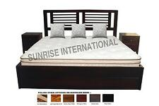 Storage Bed - Wooden Indian Queen Size Double Bed with storage under mattress  !