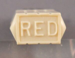 -RED---15 sticks Parker Vintage Lead 0.9mm short thin in plastic tube