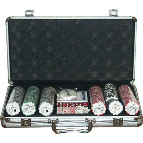 Set completo 300 Fiches 11,5 Gr. Royal Flush
