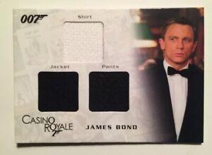 Details About James Bond Casino Royale Tuxedo Shirt Jacket Pants Triple Costume Card Rd 1300