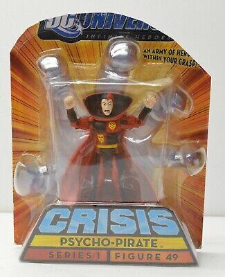 "DC Universe Infinite Heroes Crisis 3.75/"" PSYCHO PIRATE Figure #49 MattyExclusive"