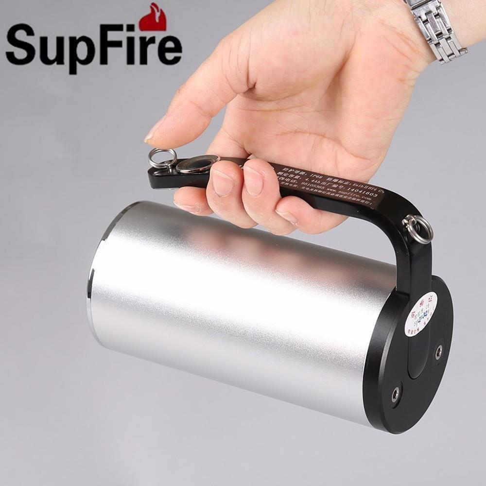 Supfire CREE 3xQ5 LED 9W  800LM Professional Explosion-Proof Flashlight Hand Lamp  quality assurance