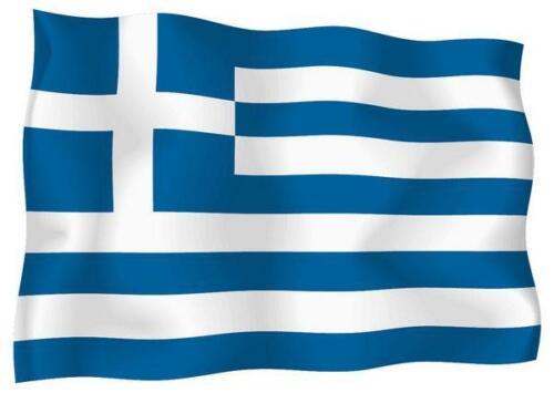 Aufkleber Sticker Flagge Außen Vinyl Auto Motorrad Grece Griechischer