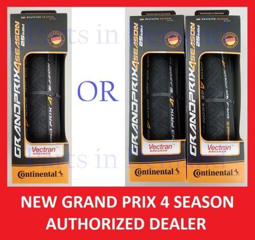 1 or 2 Continental Grand Prix 4 Season Bike Tire 700 x 23 25 28 32 mm NEW IN BOX