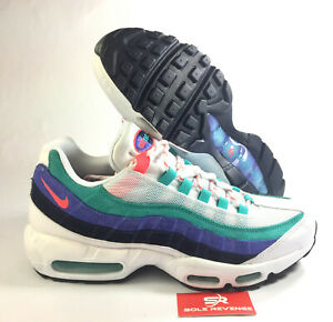 Details about New NIKE AIR MAX 95 V7939100 MEN'S WhiteFlash CrimsonHyper Jade c1