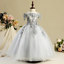 Wedding Flower Girl Dress First Holy Communion Party Prom Dress Princess Pageant