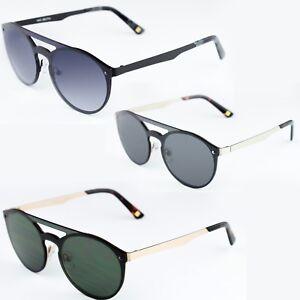 1e768387f0 Image is loading Sunglasses-EXIT-ex17002-double-bridge-oval-metal-silvery