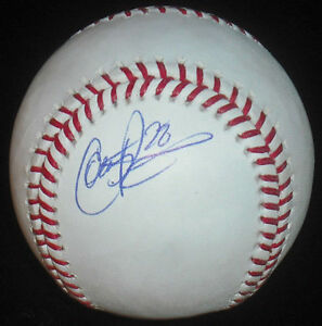 COLBY-RASMUS-SIGNED-RAWLINGS-OMLB-BASEBALL-ST-LOUIS-CARDINALS-TORONTO-BLUE-JAYS