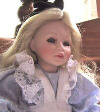 """Pauline Bjonness-Jacobsen Porcelain 13 l/2"""" Doll """"Alice"""" Ltd. Ed."""