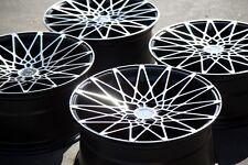18X8/18x9 AodHan LS001 Rims 5X114.3 +35/30 Black Wheel Fits G35 Rx8 Rx7 (Used)