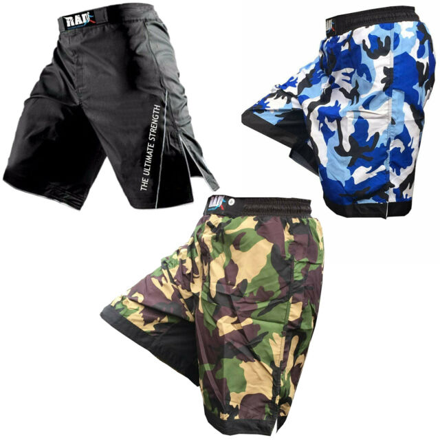 RAD MMA Fight Shorts Grappling Short Kick Boxing Cage Fighting Shorts Camouflage
