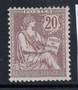 France-1902-Yv-126-Neuf-60-20-c-Mouchon