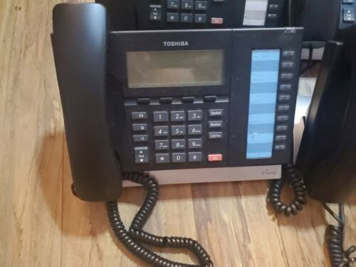 6X  Toshiba IP5022-SD IP5132-SD 10 Button IP Display Business Office Phone LOT