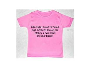 Wrap Nanny Grandad Baby Children T Shirt Top Newborn To 5 Years