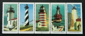 [SJ] USA Lighthouse 1990 Ocean Building (stamp) MNH