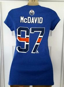 lowest price 960a1 57d92 CONNOR McDAVID Womens Jersey T Shirt Size Medium or XL ...