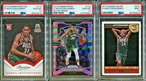 Absolute Mystery Pack Patch Auto Cards Giannis Antetokounmpo Rookie PSA 10
