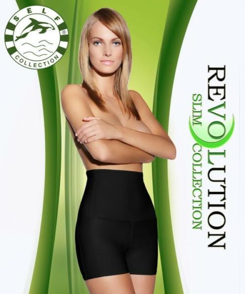 Anti-Cellulite Shorts für Abnehmen Self,Schwarz und Hautfarben (Mod.F.013) Neu