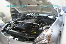Carbon Fiber Strut Hood Shock Stainless Damper For Fairlady Z 350Z Z33 03-08