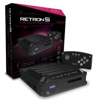 Retron 5 Retro Console For Nintendo Nes Snes Sega Genesis Gameboy Games Black