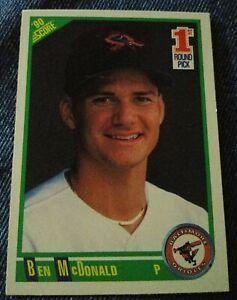1990-Score-680-Ben-McDonald-Baltimore-Orioles-RC-Rookie-Baseball-Card