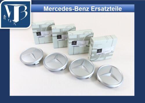 O-400// Original Mercedes R107 280SL Satz 4 Radzierdeckel  für Barockfelgen