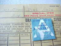 Sealed Genuine Bulova Accutron 214hn Astronaut (only) Dial Shim Part 138