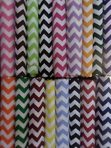 PACK N PLAY Crib SHEET Chevron Fabric UPick blue pink green purple 1/2 inch