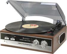 Artikelbild PL 186 H Eiche Retro Plattenspieler Soundmaster / Radio /