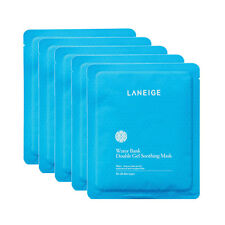 LANEIGE Water Bank Double Gel Soothing Mask - 5 sheets (FREE SHIPPING)