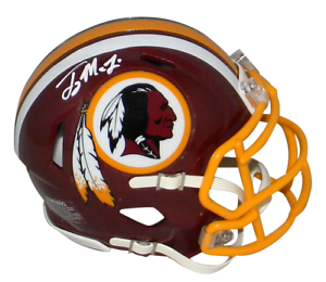 TERRY-McLAURIN-AUTOGRAPHED-WASHINGTON-REDSKINS-SPEED-MINI-HELMET-BECKETT
