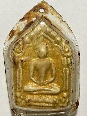 PHRA PIDTA LP MAHALAPI RARE OLD THAI BUDDHA AMULET PENDANT MAGIC ANCIENT IDOL306