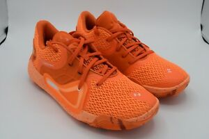 under armour anatomix spawn 2 orange basketball shoes