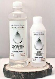 Crystal-Clear-Resina-Epoxi-700g-Transparente-Baja-Viscosidad-cura-rapido-resistente-a-UV