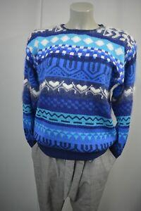 Strick Top Wong Angora Perlen Strass Gr 38 a687 Damen Pullover M Malina q6xBEq