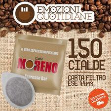 150 Cialda ESE caffè MORENO ESPRESSO BAR PER Bialetti Macchina da caffè OFFERTA